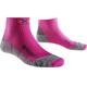 X-Socks W's Run Discovery Socks Fuchsia/Grey Mouline